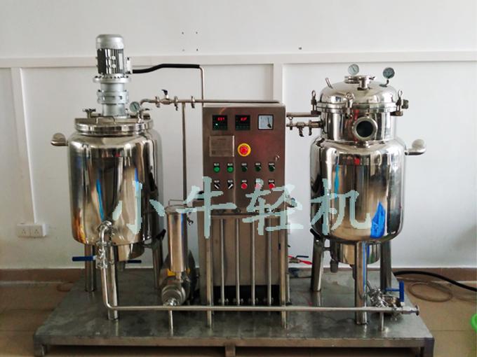 实验室小xingzhen空渗糖机组